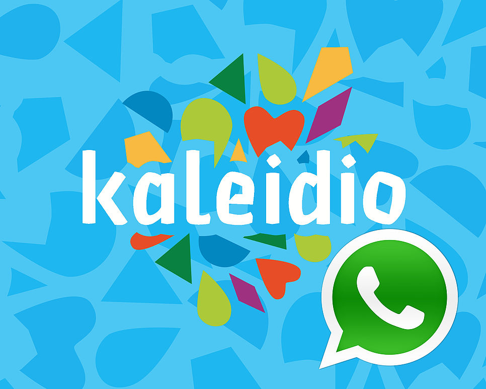 Kaleidio-WhatsApp